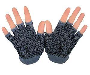 Mato & Hash Yoga Pilates Finger less Exercise Grip Gloves