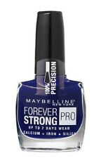 N° 650 Midnight Blue FOREVER STRONG PRO de Gemey Maybelline Vernis à Ongles