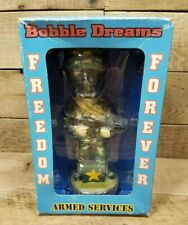 Bobble Dreams Freedom Forever Armed Services US Army Bobble Head