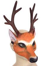 Deluxe Lattice DEER Stag Doe Maschera BESTIA Cosplay costume di Halloween Peloso Gioco di Ruolo