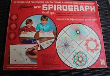 Vintage 1967 Kenner's Spirograph No 401 Everything But Pens Amazing! It's FUN