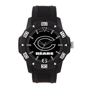Chicago Bears NFL Men's Automatic Black Watch - Men's Black Watch