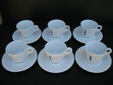 d'ANCAP Lavazza Italy Coffee Cappuccino Cups & Saucers, Set of 6