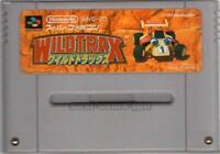 WILDTRAX WILD TRAX STUNT RACE FX SFC SNES SUPER FAMICOM NINTENDO JAPAN