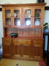 Kauri Pine display cabinet
