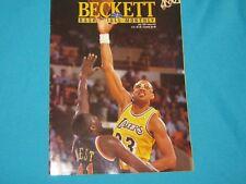 BASKETBALL BECKETT MONTHLY JULY 1991 ISSUE #12 KAREEM ABDUL-JABBAR / PIPPEN