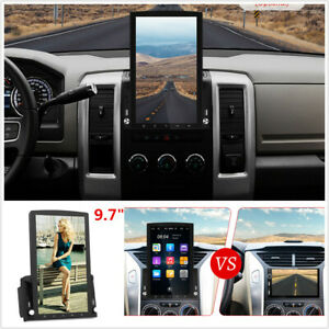 9.7''HD Vertical Screen Android 10.0 Car Stereo Radio WIFI GPS Navigation 1+16GB