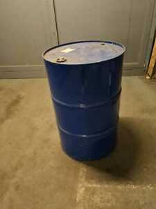 200L Empty Drum metal excellent for BBQ or bulk liquid storage