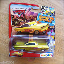 Disney PIXAR Cars RADIATOR SPRINGS CLASSIC YELLOW RAMONE TOYS R US Impala gold