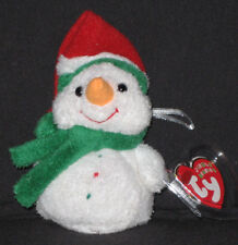 TY MELTON the SNOWMAN JINGLE BEANIE  - MINT TAGS - RETIRED