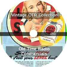 * 276 OLD TIME RADIO COMMERCIALS (OTR) on MP3 CD * ADVERTISEMENTS TV HISTORY