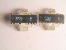 "TBA800  ""Original"" ST Microelectronics  12P DIP/ZIP with heat sink IC  2 pcs"