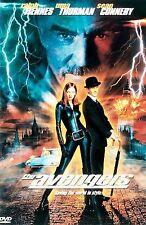 THE AVENGERS DVD Ralph Fiennes Uma Thurman