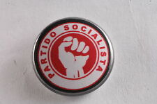 """Portugal Portugese Socialist Party Carnation Revolution 1"""" Button Badge Pin"""