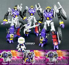 Transformers Botcon 2012 Junkions Wreck-Gar, Junkheap, and Scrap Iron MINT