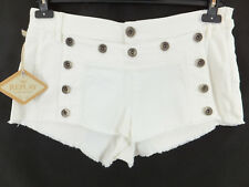 REPLAY absolut coole Jeansshorts - 30 - offwhite / cremeweiss - neu - Hotpants