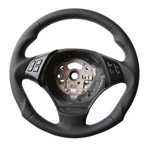 OPOPDLSA Coprivolante per cucito a mano per BMW E39 E46 325i E53 X5 Treccia sul volante Accessori auto antiscivolo
