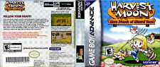 Harvest Moon: More Friends of Mineral Town CUSTOM GBA CASE (NO GAME)