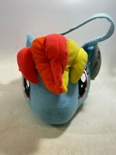 MY LITTLE PONY RAINBOW DASH SPRING BASKET WITH HAIR TOTE - NWT!