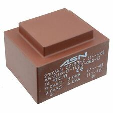 0-12V 0-12V 10VA 230V Trasformatore incapsulato PCB
