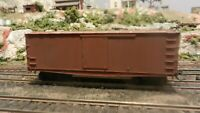 Roundhouse MDC HO Old Time 36' Fish Belly Boxcar, Unlettered, Upgraded, Exc.