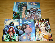 Aria #1-4 VF/NM complete series + preview - jay anacleto - image comics set lot