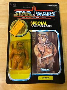 Star Wars POTF Romba Figure - 1984 Kenner 92-Back - MOC Unopened Unpunched