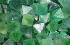 Green Fluorite Octahedron Natural Crystal Reiki Crystal Chakra Stone