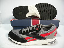 REEBOK RACER X COSMO LOW SNEAKER MEN SHOES BLACK/RED 1-118545 SIZE 13 NEW