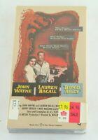 John Wayne Lauren Bacall Blood Alley VHS Warner Home Video China Action