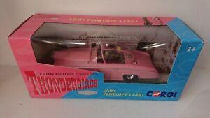 Corgi CC00604 Thunderbirds Classic FAB 1 Car with Parker & Lady Penelope Figures