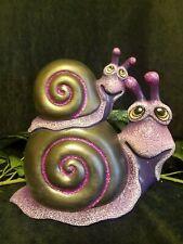 Snail Stack Garden Yard Home Interior Ceramic Hand Painted
