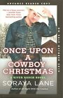Once Upon a Cowboy Christmas by Soraya Lane Advance Reader Copy Softcover Book