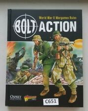 Warlord Games Bolt Action Rule Book Good Condition