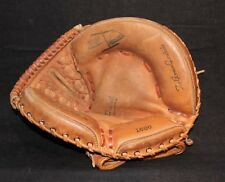 VINTAGE LEATHER BASEBALL CATCHERS 1st BASE GLOVE MITT PRO POCKET 1686 CUSTOM