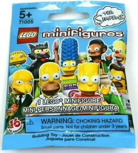The Simpsons Lego 71005 Mini Figure New in Package Retired