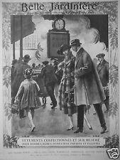PUBLICITÉ 1920 BELLE JARDINIÈRE VÊTEMENTS CONFECTIONNÉS ET SUR MESURE