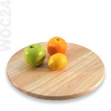 Drehteller Drehplatte Tortenplatte Drehkabinett Servierteller Buffetplatte Holz