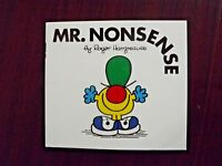 Mr Nonsense by Roger Hargreaves 1978 Paperback