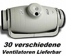 S&P TD-250/100 SILENT Rohrventilator, Rohrlüfter Rohrgebläse Rohr/Kanal/Lüfter