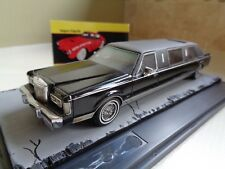 NEO SCALE MODELS LINCOLN TOWN CAR LIMOUSINE BLACK 1/43 RESIN IN DISPLAY-BOX