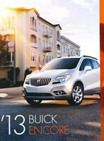 2013 Buick Encore 36-page Original Car Sales Brochure Catalog