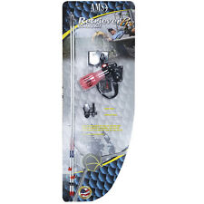 AMS Bowfishing Retriever Pro Combo Kit Right Hand Tidal Wave Rest Arrows #11535