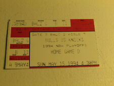 Chicago Bulls New York Knicks Eastern Conference Semi Finals Ticket Stub Game 4