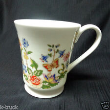 """Aynsley - Cottage Garden - Footed Mug/Cup - 3 3/8"""" tall"""