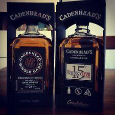 Highland Park 1989 28yo Cadenhead single cask whisky limited edition rare ~30yo