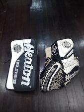 New listing Heaton Helite 4 goalie glove and blocker