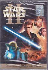 Dvd **STAR WARS • EPISODIO II • L'ATTACCO DEI CLONI** nuovo sigillato 2002