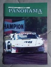1984 MAY PORSCHE PANORAMA MAGAZINE CARRERA 911 928 944 924 356 TURBO