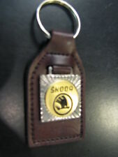 Key ring / sleutelhanger Skoda (leather)